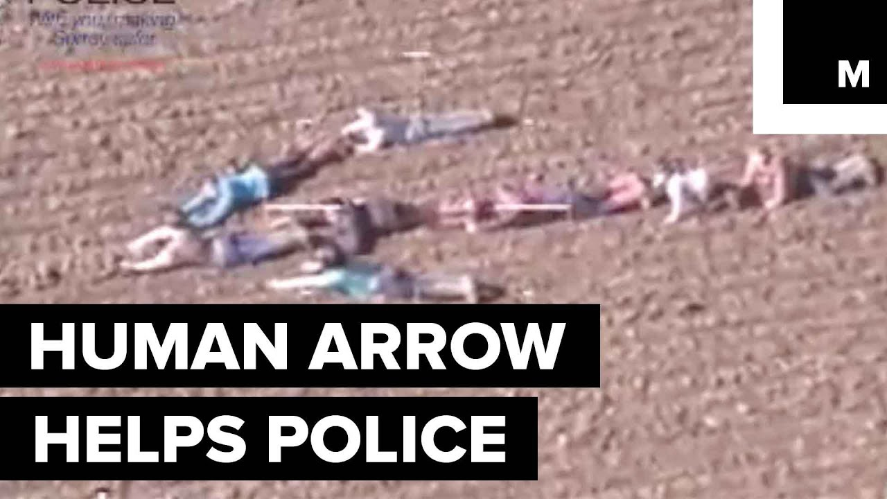 Ingenious Kids Form Human Arrow to Help Police During Manhunt ...
