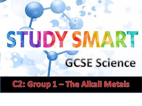 C2 Group 1 - The Alkali Metals (EDEXCEL)