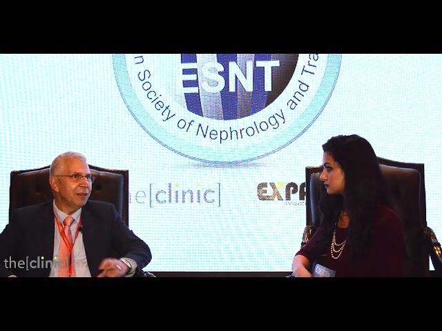 الأستاذ الدكتور كمال محمد عكاشة يتحدث عن الفشل الكلوي الحاد