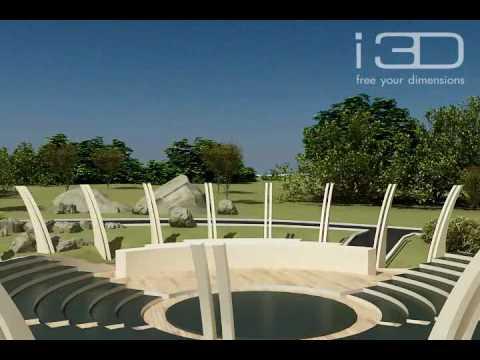 Wizualizacja 3D osiedla w Houston County (USA)