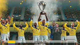 PES 2015 (PS2) Colombia vs USA - Copa America - FINAL