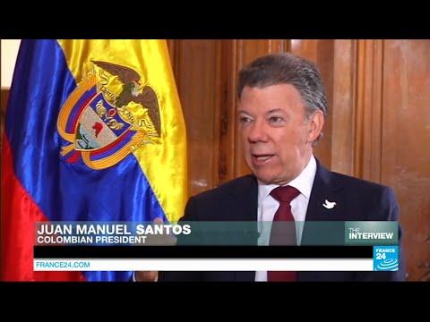 Exclusive interview of Colombian president Juan Manuel Santos
