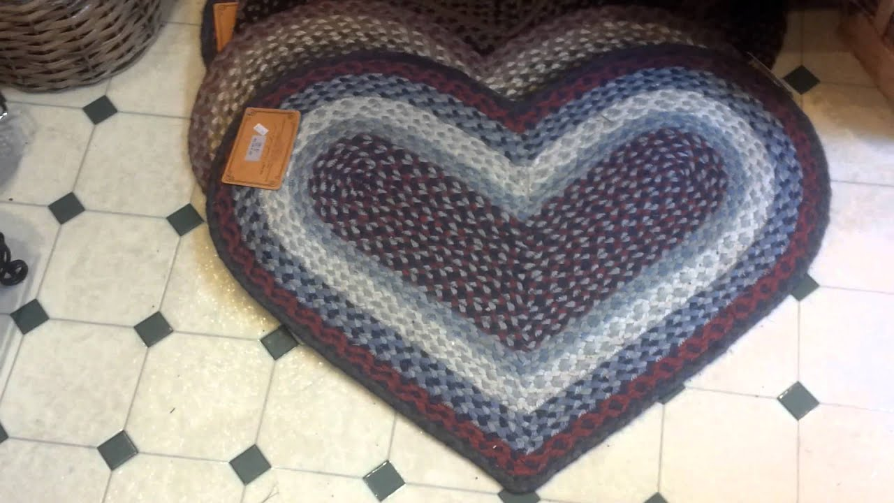 Heart Rugs Jute At The Weed Patch Country Store Youtube