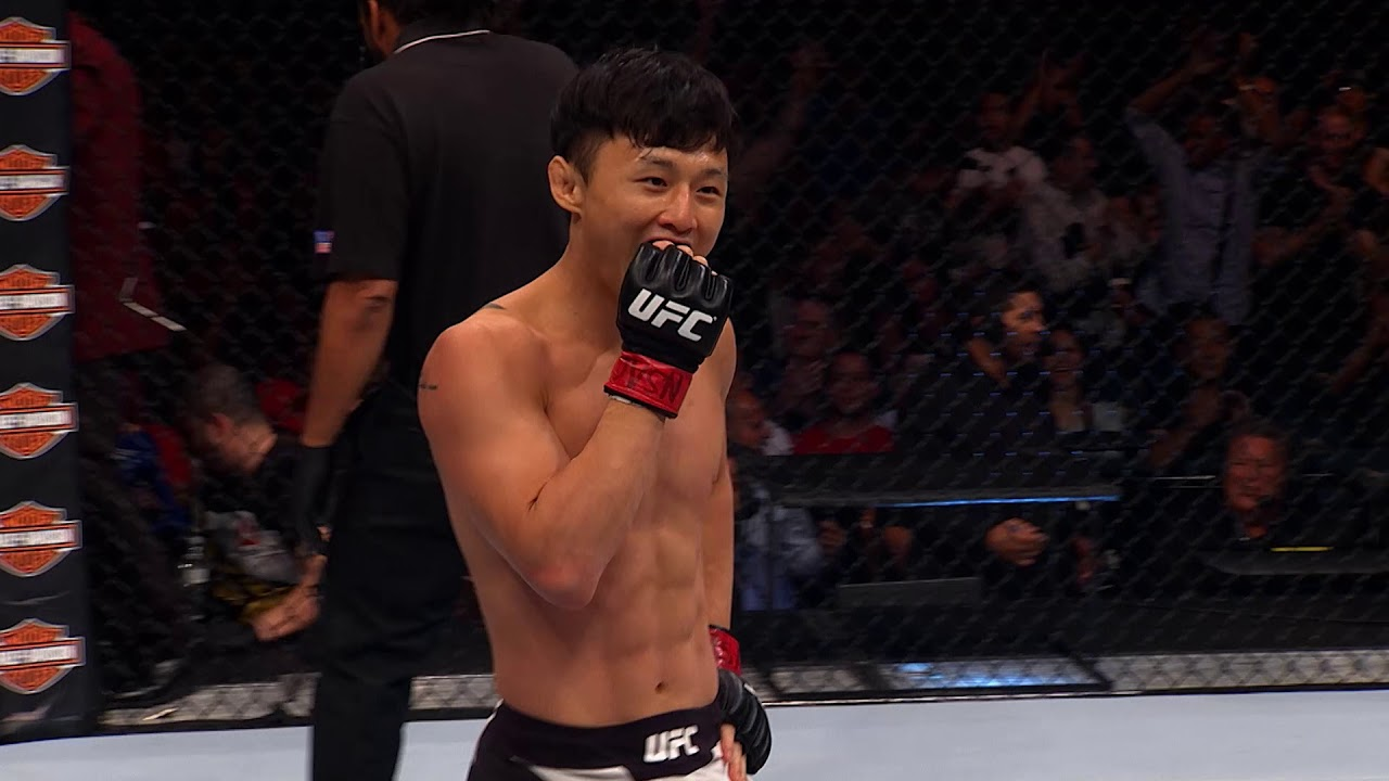 Top Finishes from UFC Busan Fighters
