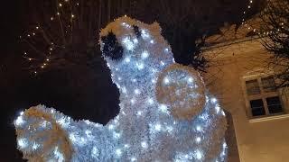 Działdowo już w świątecznej dekoracji