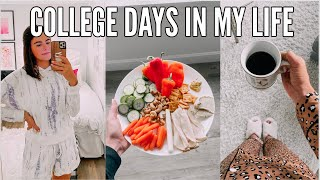 VLOG | college days in my life at miami university: new loungewear, healthy meals, & online classes!