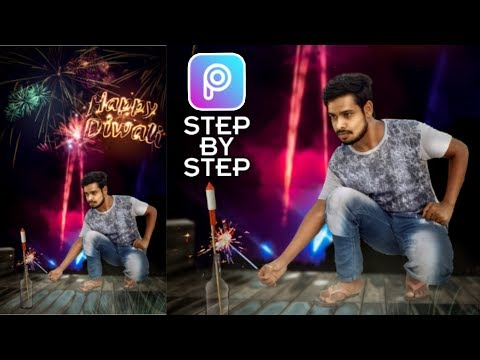 PicsArt Happy Diwali Special Photo editing Tutorial in Picsart Step by Step | lightroom tutorial thumbnail