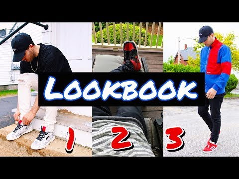 MEN'S FASHION SPRING LOOKBOOK! ADIDAS - JORDAN - REEBOK - PALACE - GUESS - OUTFITS