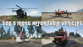 GTA Online Top 5 Most Affordable Vehicles