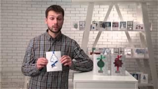 видео Офсетная печать открыток