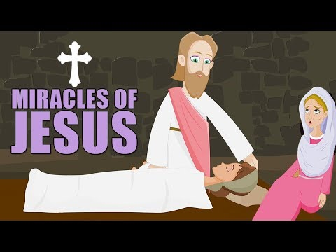 Miracles of Jesus   Animated Children's Bible Stories   Holy Tales for Kids   New Testament  