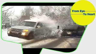Car Crash and Slip , Slide Rain and Winter Weather Compilation OCTOBER 2017 (1215) HD 1-20