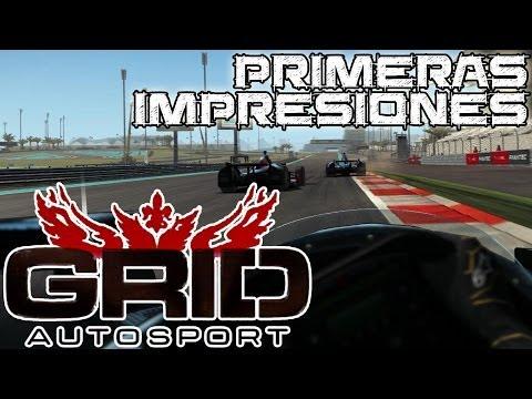 GRID Autosport || Primeras impresiones