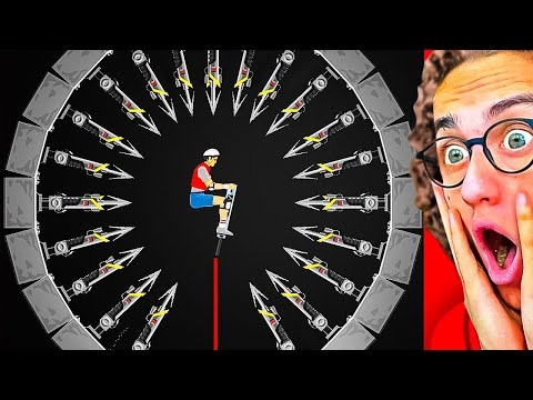 WORLD'S MOST IMPOSSIBLE HARPOON LEVEL! (Happy Wheels #2)