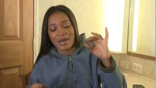 Day 6: Keke Palmer Diary on the set of Rags