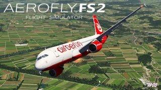 AEROFLY FS 2 Flight Simulator ★ Airbus A320-200 Air Berlin ★ #09 FLUGSIMULATOR  [Deutsch/HD]