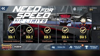 Need For Speed No Limits Android Koenigsegg Agera RS (2016) Dia 5 Eliminatoria