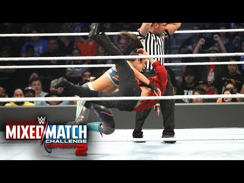 Bayley takes out Jinder Mahal and the Singh Brothers in the WWE MMC Semifinals