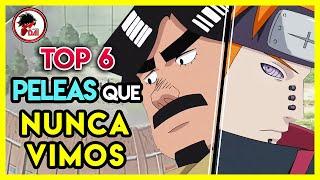 Naruto: Top 6 PELEAS que NUNCA VIMOS (y DEBIMOS VER) en Naruto Shippuden