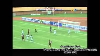 Cuplikan Gol_14_Persipura vs Bali United Pusam_5-2