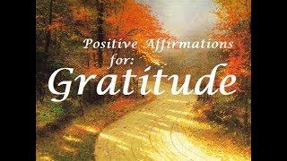 Positive Affirmations for Gratitude