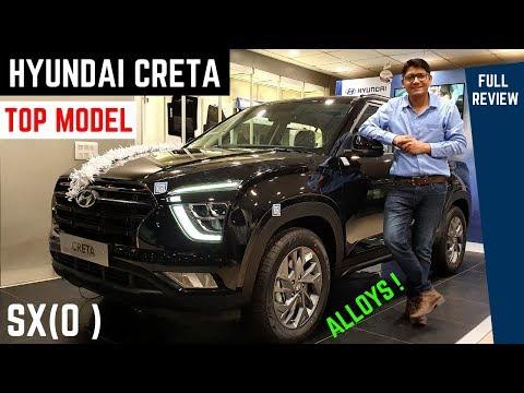 2020 Hyundai Creta SX(O) Top Model FULL Detailed Review - Latest Features, Premium Interiors, Price