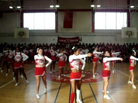 Coral Gables High School Cheerleaders- Fight Song 2008