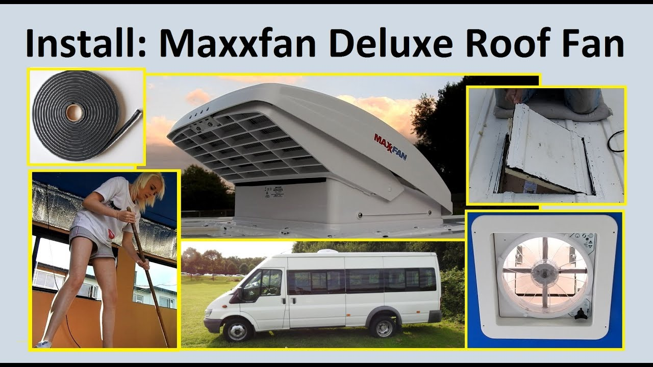 033 Fitting Maxxfan Deluxe Ceiling Fan Amp Extractor
