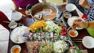 Cá bông lau nấu lẩu chua | Món Ngon Mẹ Nấu