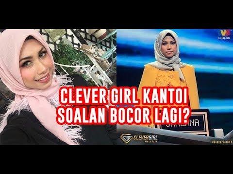 Clever Girl KANTOI soalan bocor lagi ? Shazana tak tahu jawapan yg dipilih