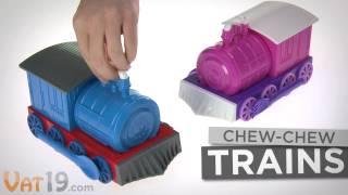 Repeat youtube video Chew-Chew Train Dinner Set
