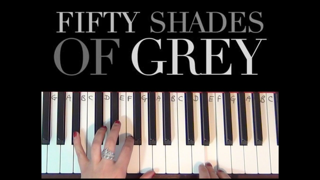 Crazy in love fifty shades of grey easy piano tutorial youtube hexwebz Image collections