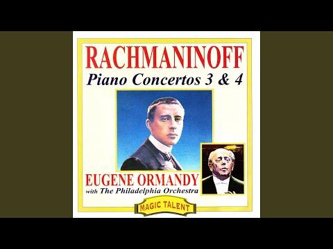 Piano Concerto n.3 in D minor op.30 - I Allegro ma non tanto