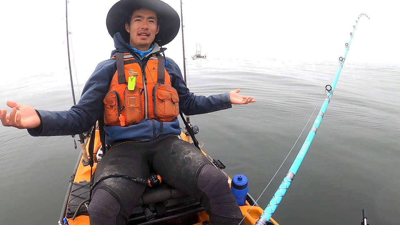 Angry Fisherman Yells at Kayaker, Then Kayaker Catches a Big Fish
