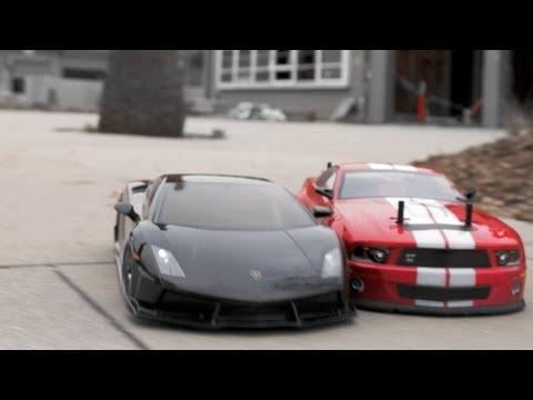 Rc Drift Cars Vs Parkour Youtube