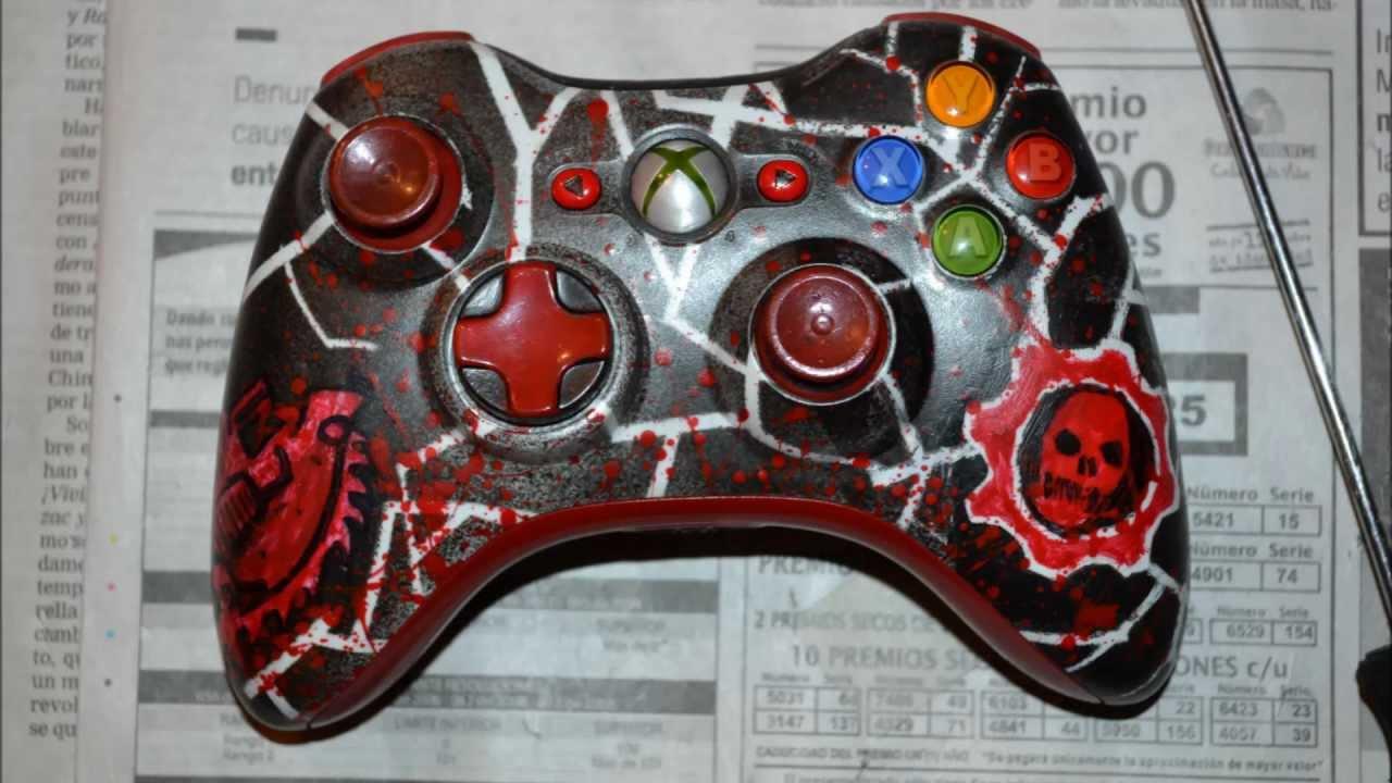 Como Pintar Tu Control De Xbox 360 Rapido Youtube