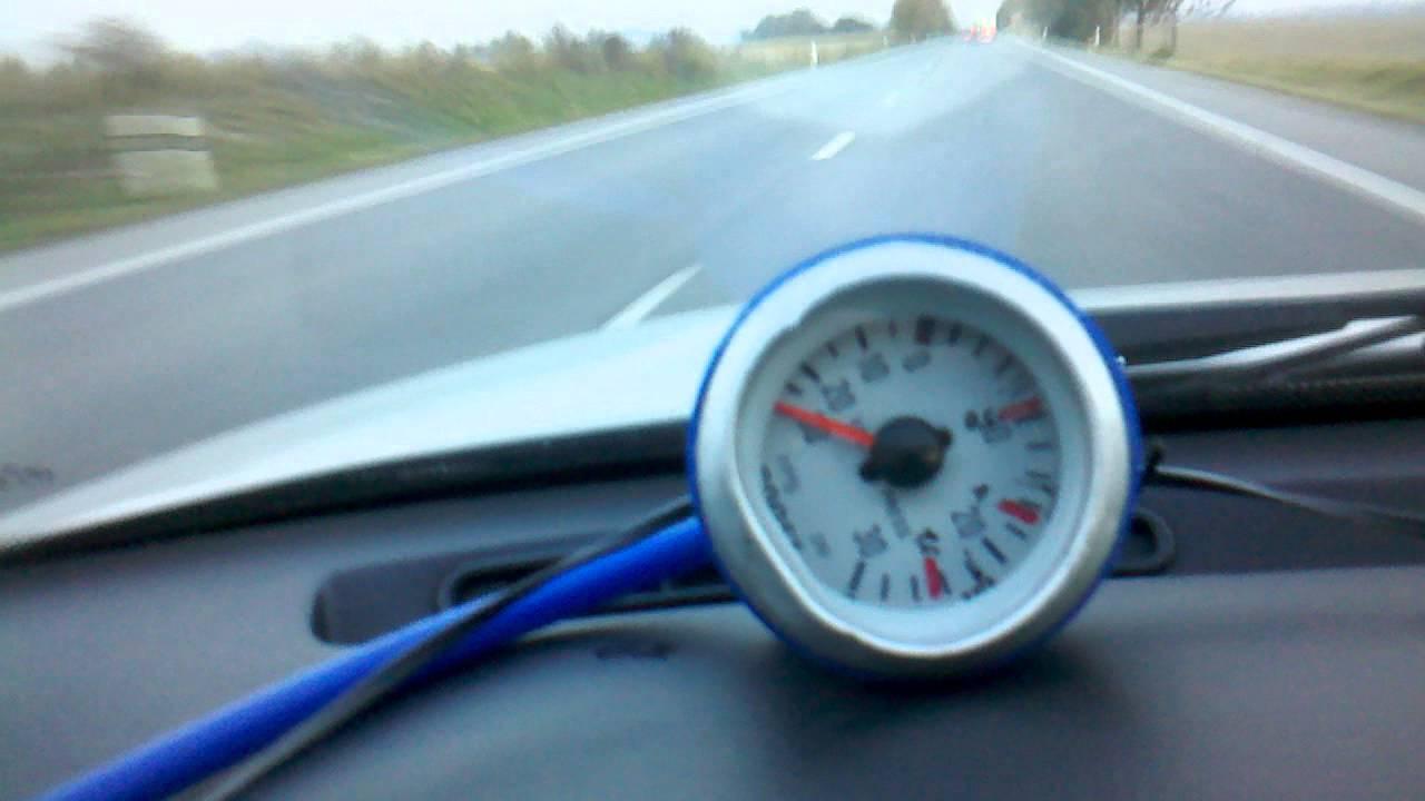 Compressor surge full throttle example