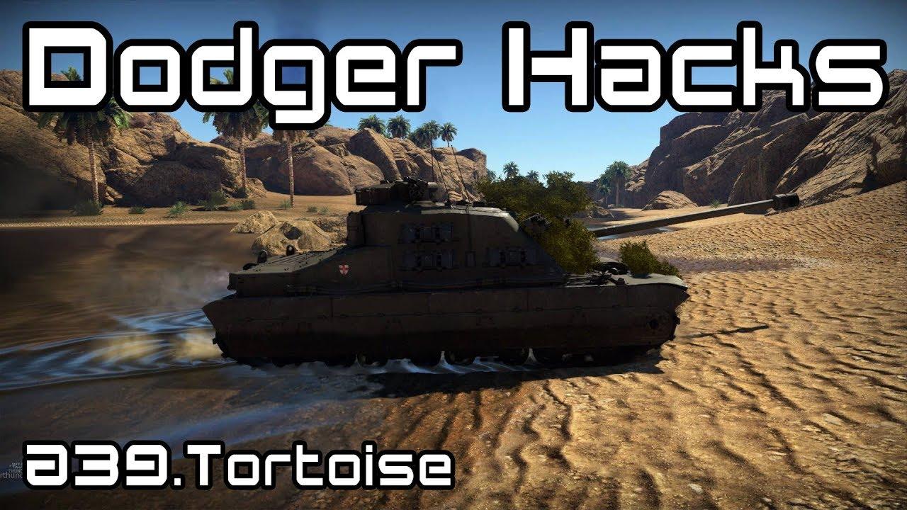 Dodger Hacks - A39 Tortoise - War Thunder Gameplay - YouTube