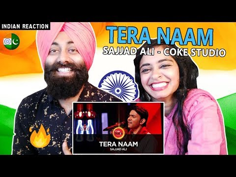 Indian Reaction on Tera Naam, Sajjad Ali | Coke Studio Season 10