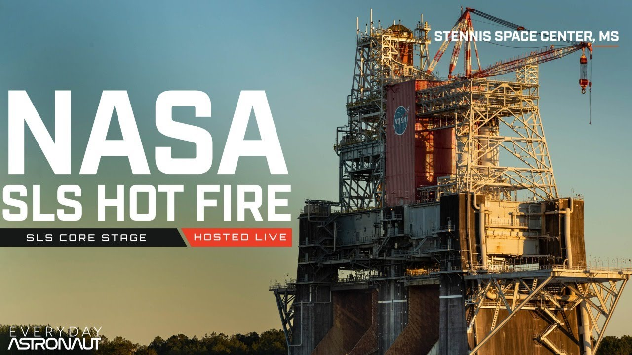Watch NASA fire up SLS for the first time! - download from YouTube for free