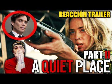 Video Reacción: UN LUGAR TRANQUILO 2 (A Quiet Place 2) Trailer #1 | EMPEZAMOS FUERTE 2020