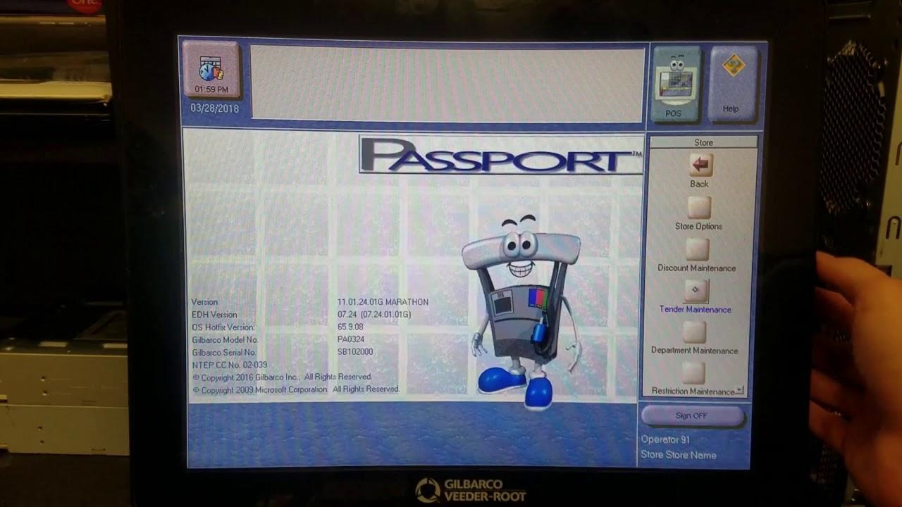 Adding Department Keys on Gilbarco Passport