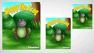 Hoppy the Frog by Ronald Destra (Frog and Princess Books about Courage and Determination)