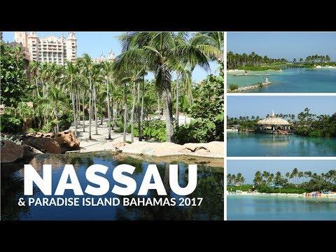 Nassau Bahamas: Atlantis & Carnival Conquest Travel Vlog 2017