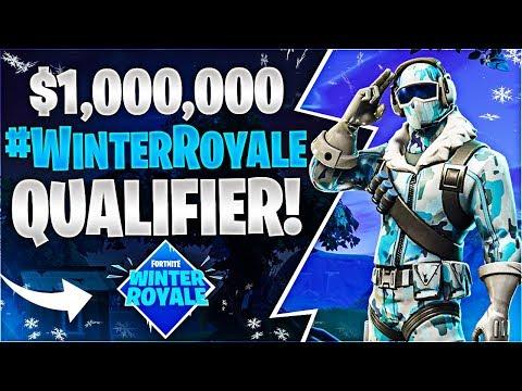 $1000000 WinterRoyale QUALIFIER Fortnite Battle Royale