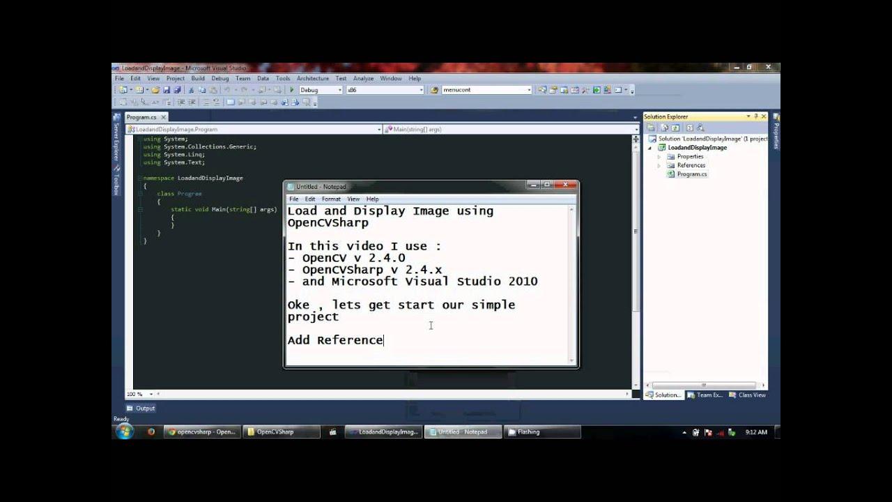 OpenCVSharp Load & Display Image