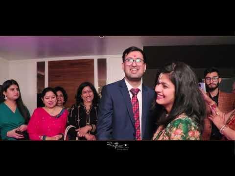 Ridhi & Rishabh | Ring Ceremony | RATHOR PHOTOGRAPHER