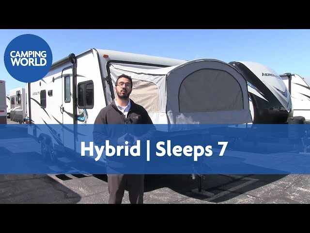 2017 Aerolite 204ES  | Hybrid | Travel Trailer | French Roast - RV Review