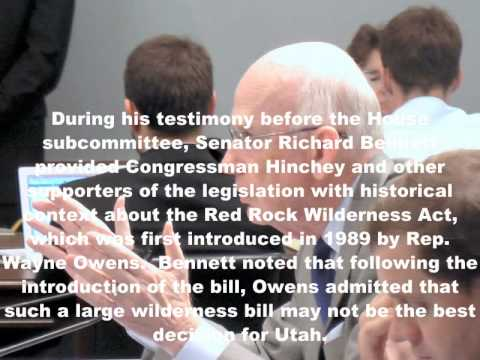 Utah Delegation Voices United Opposition for Outdated Wilderness Bill