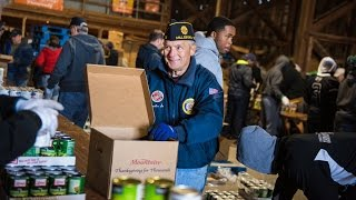 Delaware Legionnaires join Thanksgiving for Thousands effort